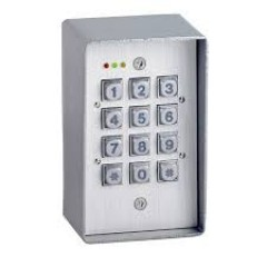 Weatherproof Metal Keypad For Access Control with 21 User Codes