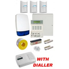 Scantronic 9651-41 Wired Burglar Alarm Kit with Bosch PIR and Auto Dialler