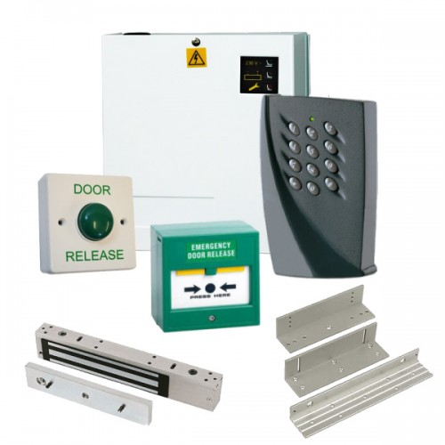 Weatherproof 100 Code Access Control Door Entry Kit with