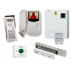 Professional colour video door entry kit with Integrated Code Access Keypad and Maglock