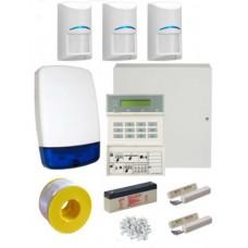 Wired Burglar Intruder Alarm System Kit LCD Keypad BOSCH PIRs Scantronic 9651-41