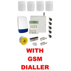 Scantronic Eaton 9651-43 Wired Alarm Kit with GSM SMS Call Dialler