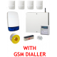 Scantronic Eaton I-on Wired Alarm Kit with GSM SMS Call Dialler
