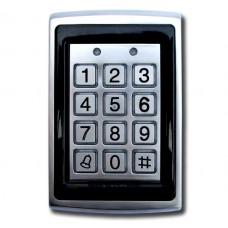 Metal Access Control Keypad with Proximity Built In