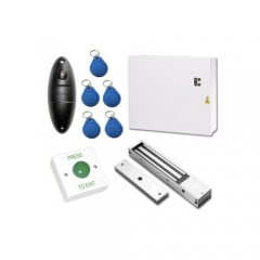 Weatherproof IP68 Proximity Access Control Door Entry Kit with Power Supply and Maglock