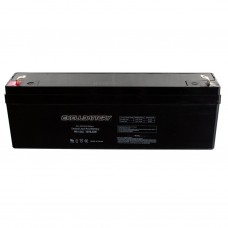 2 Ah 12 Volt Rechargeable Alarm Battery SLA
