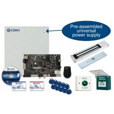 CDVI Atrium 1 Door Networkable IP Access Control Kit with Maglock and Smartphone App Control