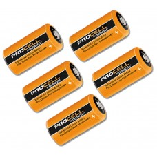 Replacement Battery For Texecom Wireless PIR Detector, Panic Button, Vibration Detector - Pack of 5