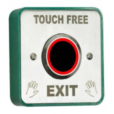 Touch Free Request to Exit Button Stainless Steel Face Plate
