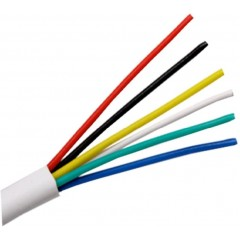 6 Core Intruder Burglar Alarm Cable Sold By The Meter