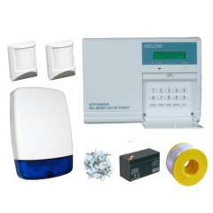 SPECIAL OFFER Melcom ST5500 LCD Wired Alarm Kit with 2 PIRs
