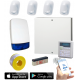 SMART Wired Intruder Alarm Kit with LCD Keypad with App User Control and Push Notification Alerts