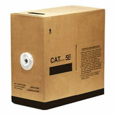Cat 5e Cable Ideal for Data or CCTV Installation. 305m Box