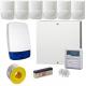 Wired Intruder Burglar Alarm System PROFESSIONAL Kit LCD Keypad with 6 QUAD PIRs