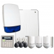 Eaton Scantronic i-on 30 Hybrid SMART Wireless and Wired Intruder Alarm Kit with LCD Keypad and App Control and Alerts
