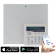 SMART Wired Control Panel with LCD Keypad with User App Control and Push Notification Alerts