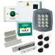 ACT 5 Proximity Code Access Control Door Entry Kit, Power Supply MagLock Z&L