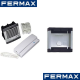 Fermax, Professional 1 Way Audio Door Entry Kit Flush or Surface Mounting