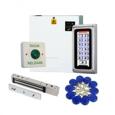 Proximity Code Keypad Access Control Kit with Power Supply and Maglock