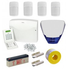 Eurosec CP8L Wired Alarm Kit with Delta Bell Box