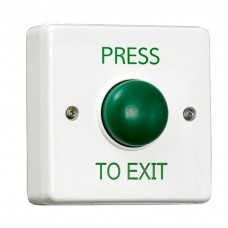Plastic Green Dome Request to Exit Button