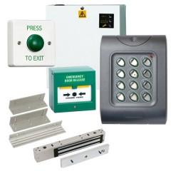 Weatherproof IP67 Code Keypad Access Control Door Entry Kit with Maglock