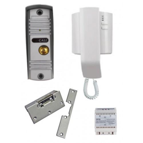 Audio Door Entry Intercom Kit With Yale Type Lock Release Wsccla1lr