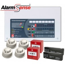 Alarmsense 2 Zone Wired Professional Fire Alarm Kit